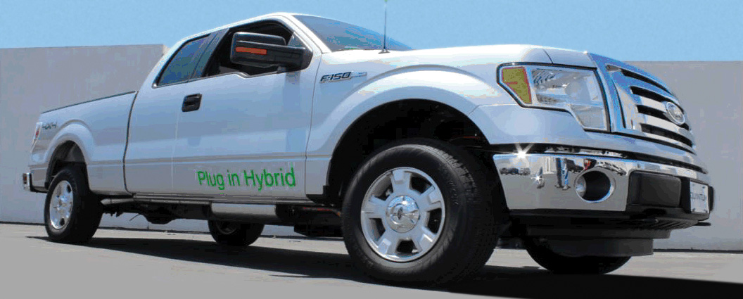 Quantum Fuel Systems delivered a plug-in hybrid Ford F150 to Florida Power & Light for the utility's electric vehicle fleet pilot program.